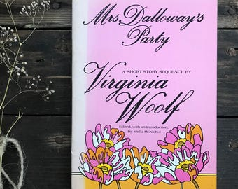Vintage Virginia Woolf paperback Mrs. Dalloway's Party