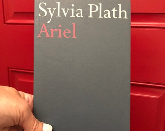 Vintage Sylvia Plath Ariel, paperback, poetry, poems, classic, collectible