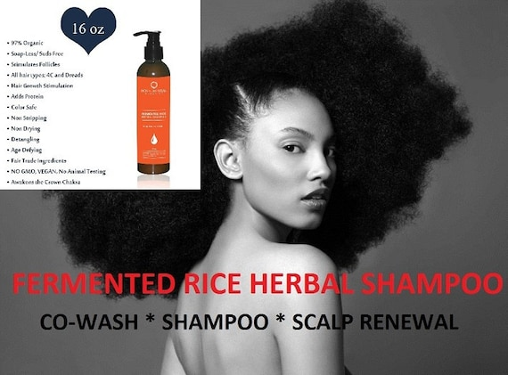 DETOX for Hair & Scalp, Renewal Detox 16oz, No Suds Pre-Poo, Organic Water Wash Shampoo, Age Defying Hair  Co- Wash