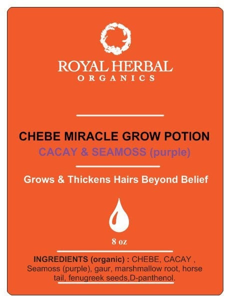 CHEBE Miracle Growth Potion 8oz | Fast Growing Hairs | Thick Hairs