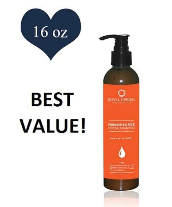 Hair Growth Solution Co-Wash* SHAMPOO * Scalp Renewal Detox 16oz,, Delays Grays, Grow back Edges, Fermented Rice Herbal Wash