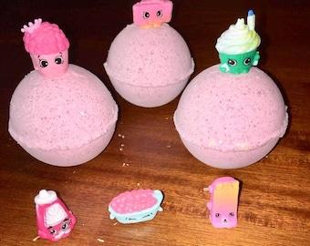 Shopkins surprise bath bombs / surprise bath bombs / shopkins bath bombs / bath bombs / mega bath bombs / toy bath bomb / kids bath bomb