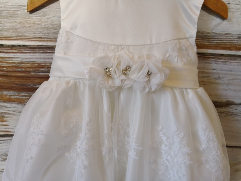 a721275de6b62 New Arrival Baby Girls Ivory Baptism Outfit Baptism Dress