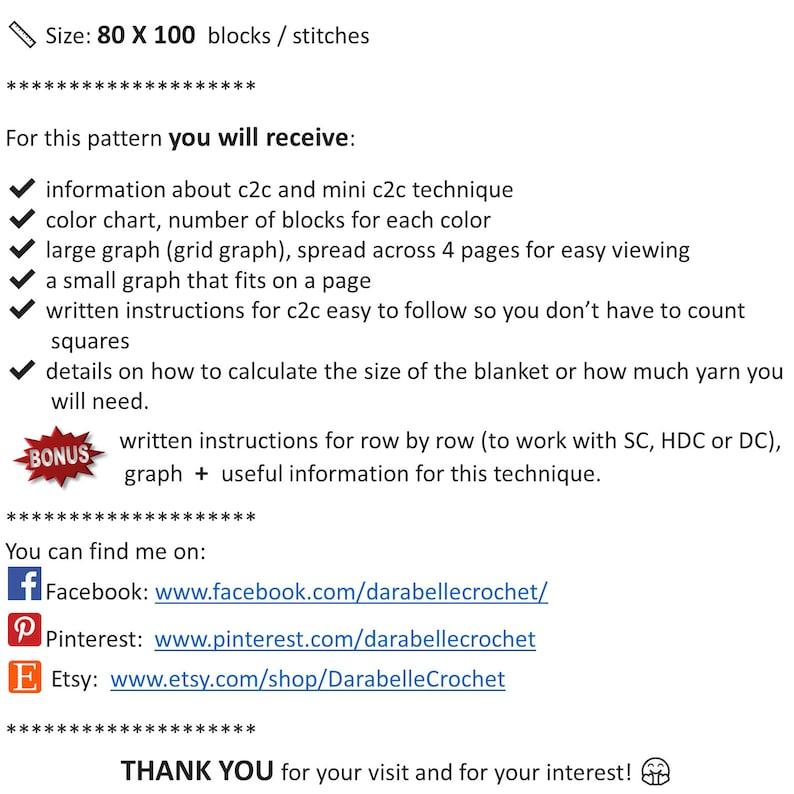 Corner to corner Minions graphgan Minion \u2013 C2C \u2013 Row by row \u2013 Instructions \u2013 Graph \u2013 PDF download \u2013 Crochet Blanket \u2013 Digital pattern