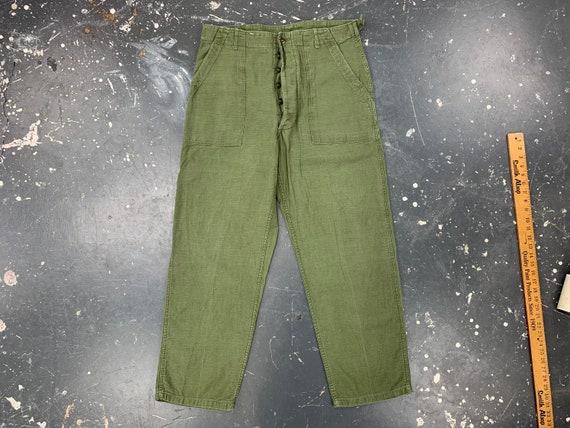 36x30 OG107 Utility Trousers 50s USA Vintage