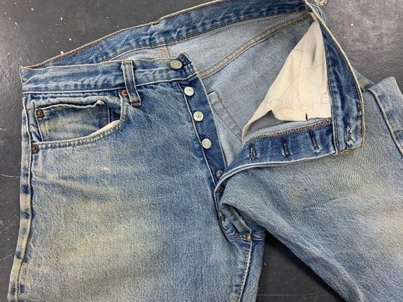 31x30 Levis 501 Jeans 70s USA Vintage - image 8