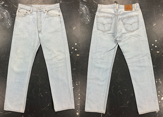 31x29 Levis 501 Jeans USA 90s Vintage