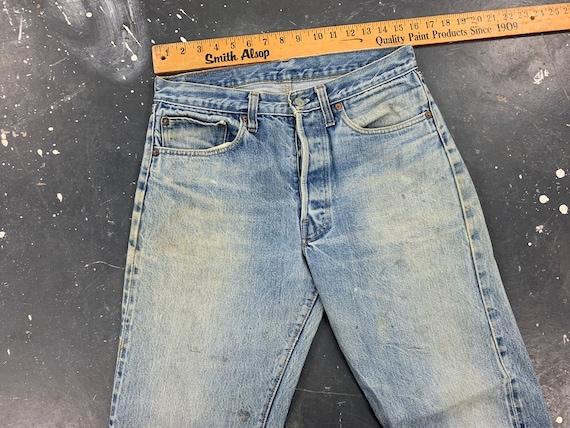 31x30 Levis 501 Jeans 70s USA Vintage - image 5