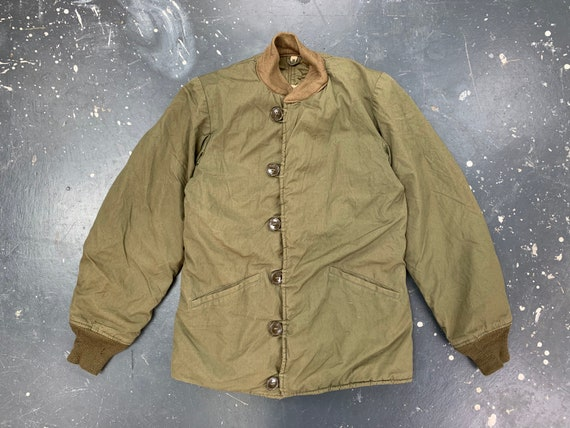 US Army M43 Jacket Liner 40s Military Vintage