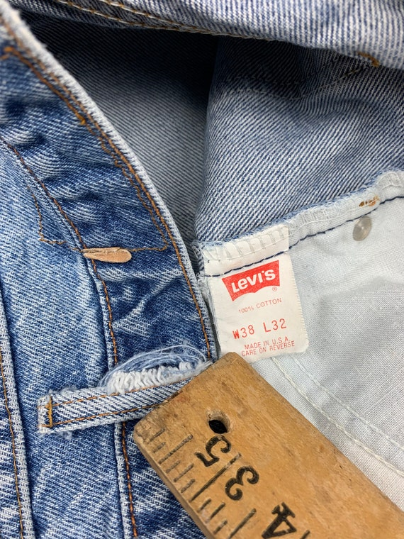36x30 Levis 517 Jeans 90s USA Vintage Tagged 38x3… - image 3