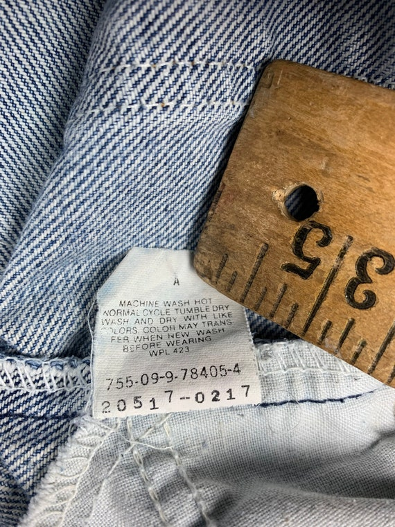 36x30 Levis 517 Jeans 90s USA Vintage Tagged 38x3… - image 4