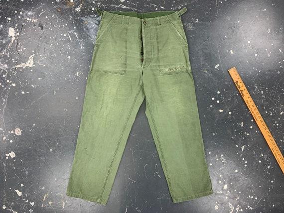 35x30 OG107 Utility Trousers 50s USA Vintage