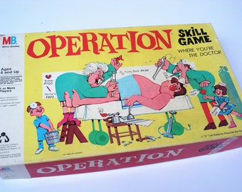 Operation Simpsons Board Game Part//Piece EAR WIG Hair