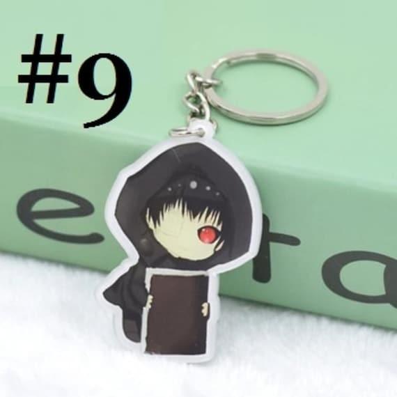 Anime Tokyo Ghoul Metal Sword Keychain Key ring Pendant cosplay