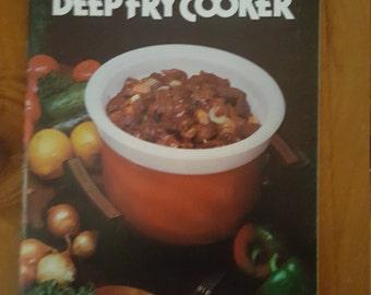 Sunbeam Low Heat Deep Fry Cooker Booklet Vintage