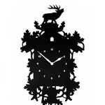 Modern Cuckoo Clock, Large Wall Clock Laser Cut Acrylic