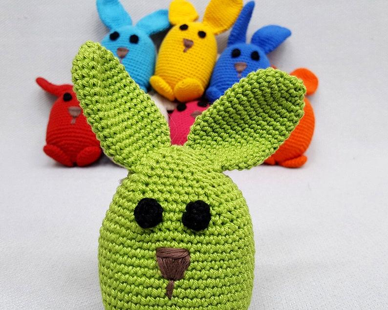 Amigurumi Rabbit, Soft Rabbit Toy, Animals Figure, Crochet Soft Animal,  Stuffed Toys, Infant Toys, FairTrade Toys, Crochet, Christmas Gift