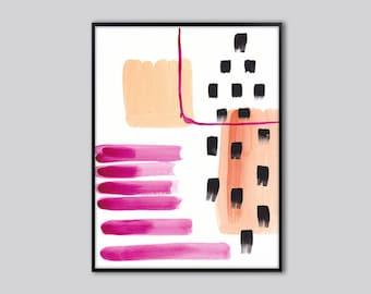 Abstract wall art print, abstract art, Bright abstract wall decor, colorful abstract poster, abstract wall print, abstract painting, 21