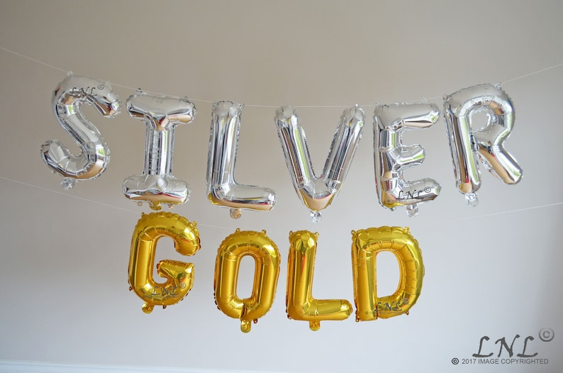 gold gold balloons silver mylar foil letter balloon banner party balloons cheers birthday Cheers To 20 Years Rose Gold balloons