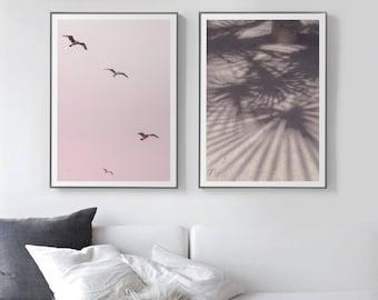 Modern poster pastel etsy