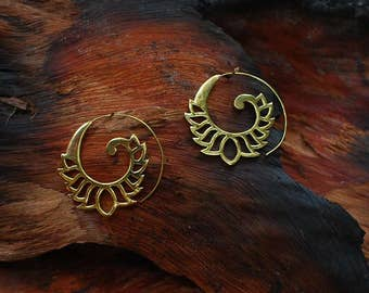 Cakra Spiral - ear jewelry