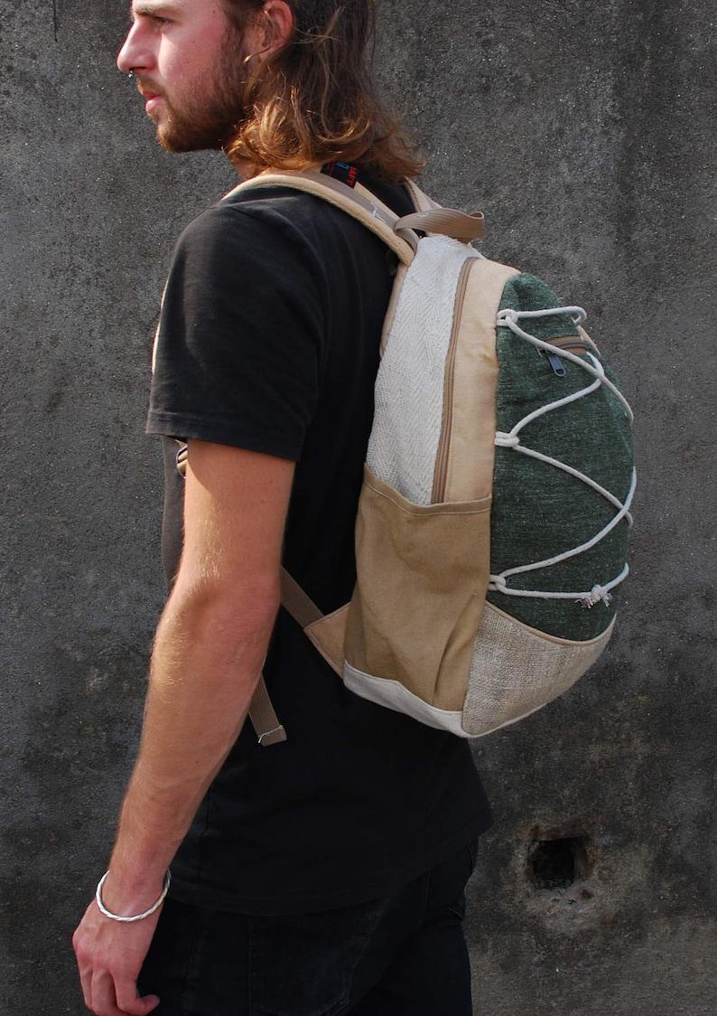 Pataka Himalayan Hippie Hemp Backpack Organic