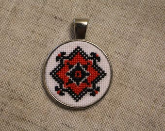 "Pendant in the Ukrainian style ""Keeper"""