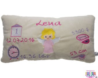 Birth Pillow Personalized