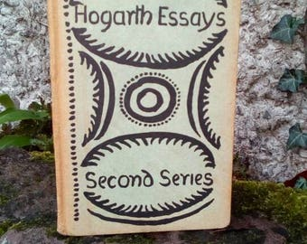 Virginia Woolf, Leonard Woolf, first edition, Hunting the Highbrow, Hogarth Press, Rare, Hogarth Essays, Illustrated by Vanessa Bell. Scarce