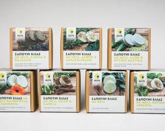 4 box combi pack Olive Soap