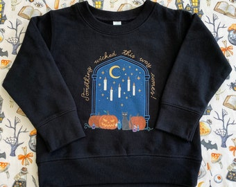 Wizarding Toddler Pullovers