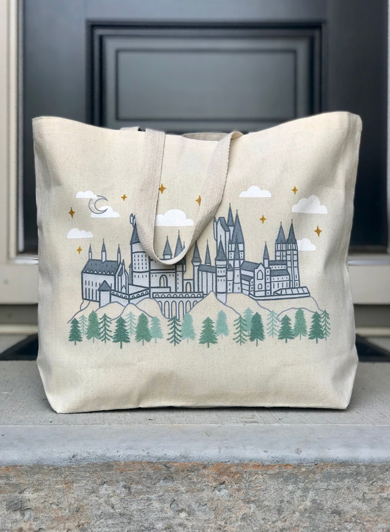 The Castle Tote  Book lovers tote image 0