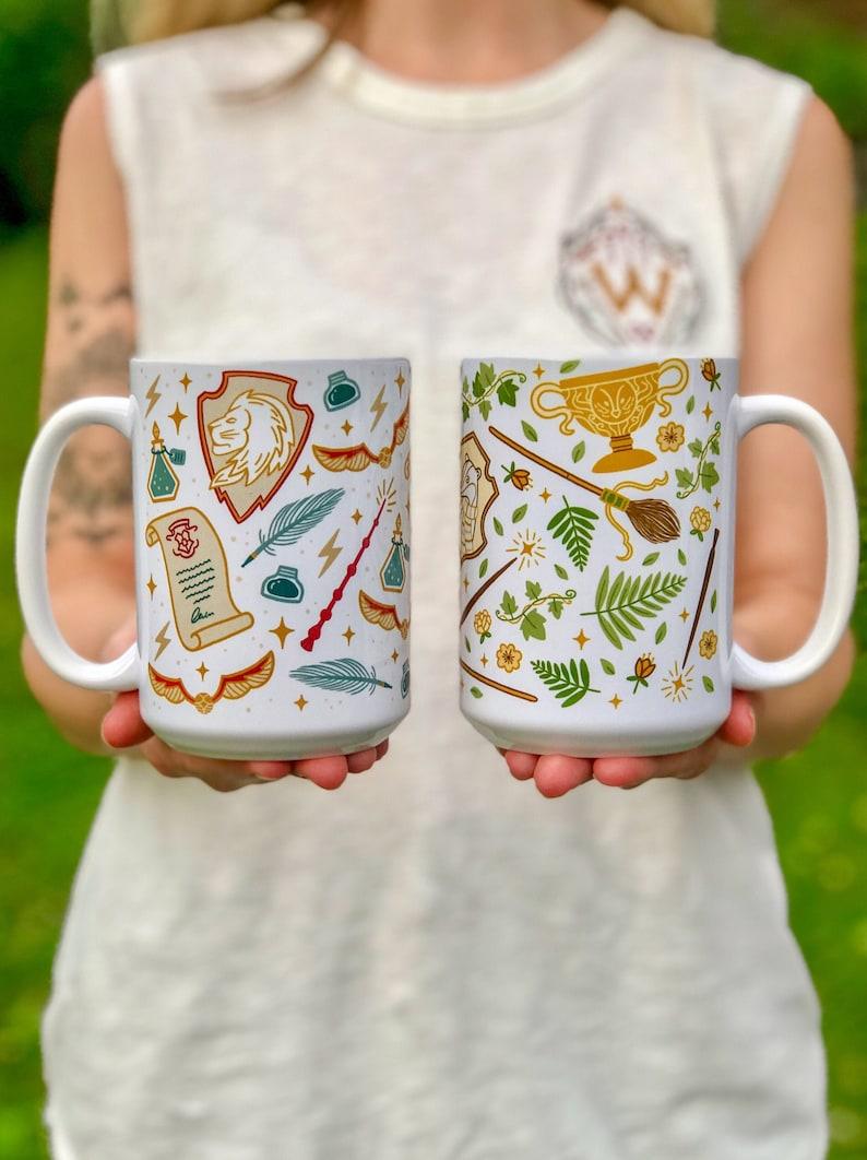 House Mugs  Bookish Mug image 0