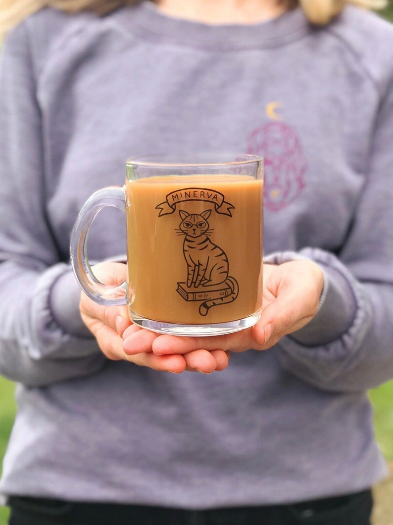 The Minerva Mug  Bookish Mug image 0