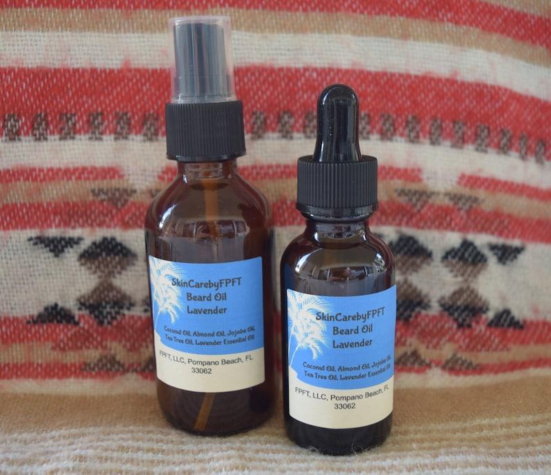 All Natural Beard Oil, Lavender Beard Oil, Beard Conditioner, Goatee Oil,  Mustache Oil, Gifts for him, Men's Gifts, Beard Oil