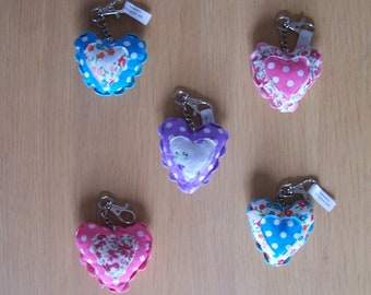 Heart charm / Bag charm / Keyring / Keychain / keyring charm / Heart keyring / Birthday gift / Birthday gift for her / India Inspired