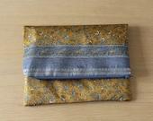 Sari fabric clutch bag...