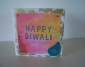 Happy Diwali card handmad...