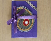 India Inspired notebook journal