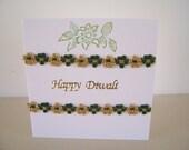 Diwali card handmade by I...