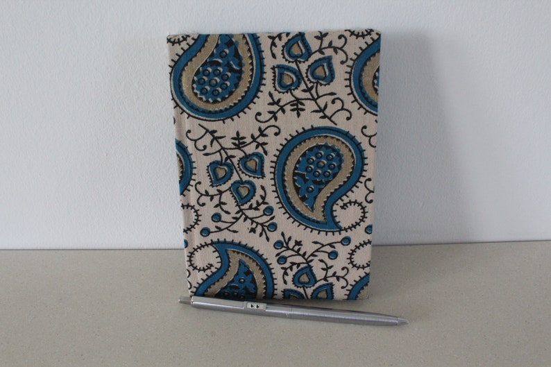 A6 notebook in paisley design image 0