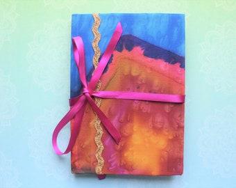 Sari colourful journal notebook