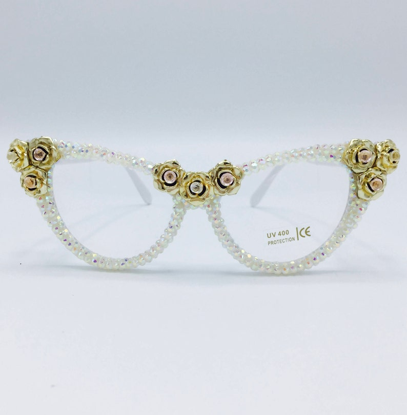 6010dc69bc8a Festival Sunglasses Gold Roses Summer Glasses Party Rave