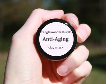 Anti-Aging Clay Mask. 1 oz.