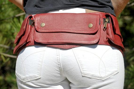 478b0a40fa Leather Bum Bag Women   Men
