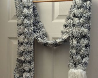 Cable knit scarf #2
