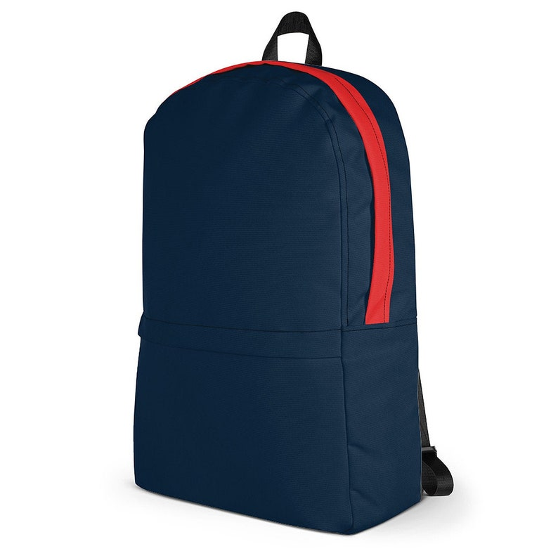 Red Tape Urban Commuter Backpack  Blue Navy & Red / College image 0