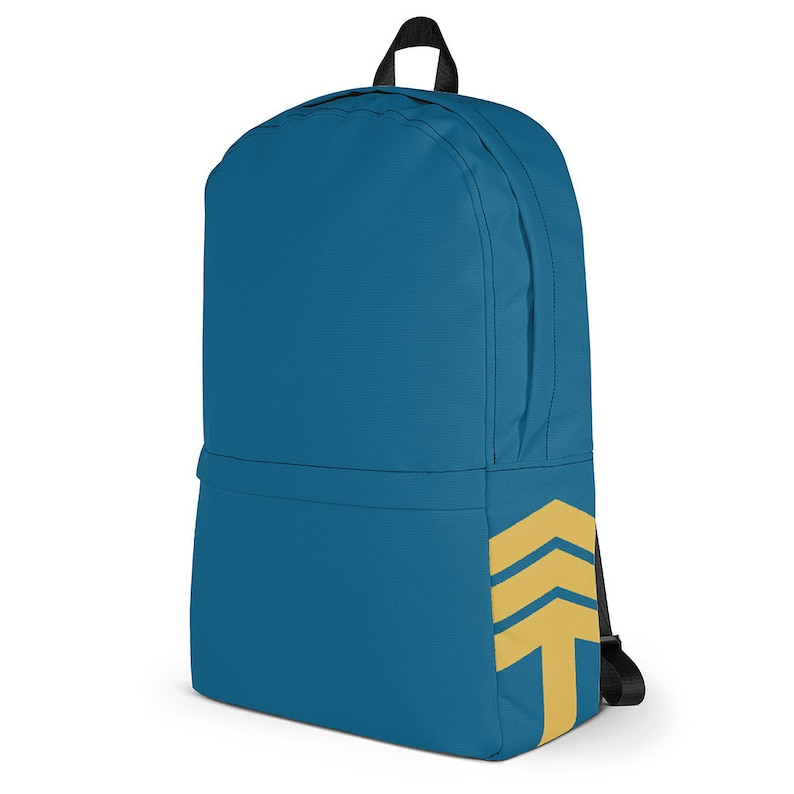 Traveling Arrow Urban Commuter Backpack  Blue & Yellow / image 0