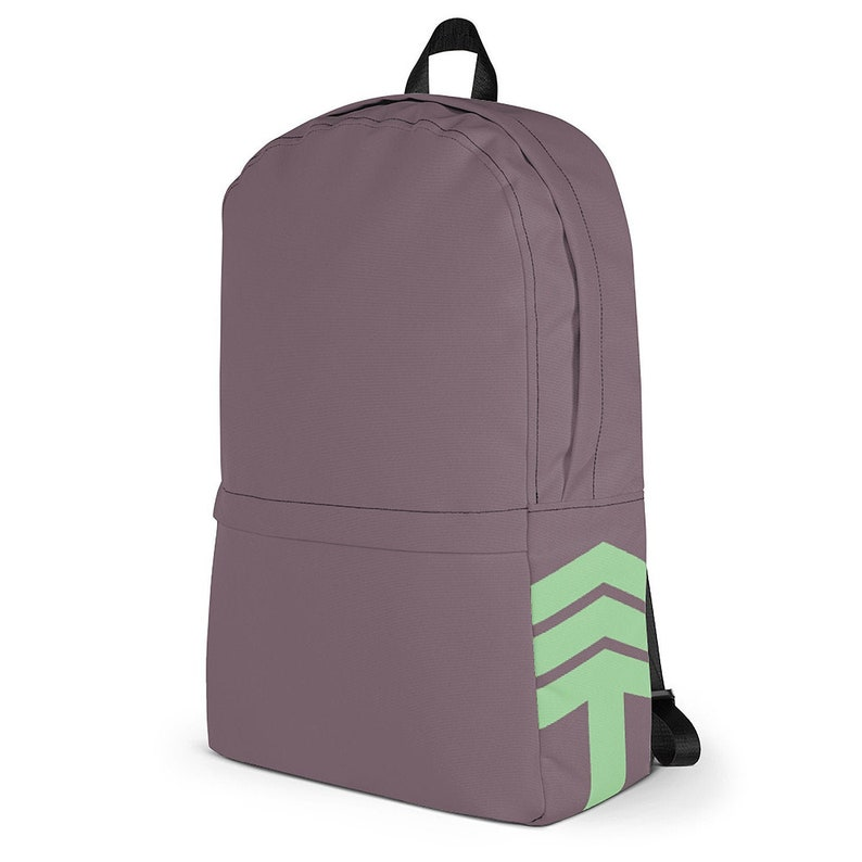 Traveling Arrow Urban Commuter Backpack  Purple & Turquoise / image 0