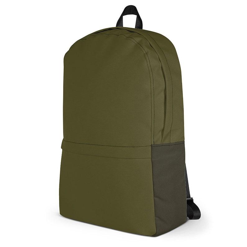 Military Commander Urban Commuter Backpack  Kahki Green / image 0